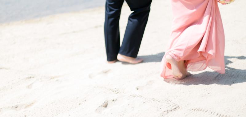 Judith & Mike, geheime Hochzeit mit Urlaubsgefühlen